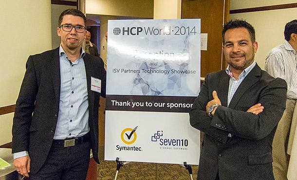 Robert och Marcelo på HCP World 2014